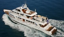 Motor yacht DAYDREAM -  From Above