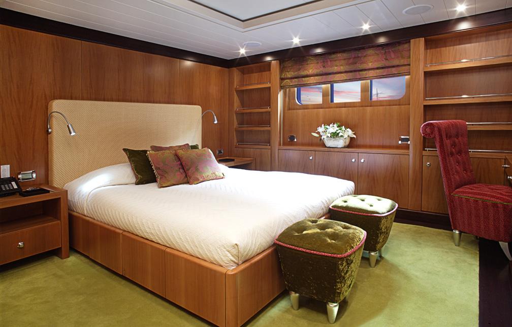 motor yacht deniki double cabin