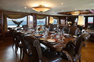 Motor yacht DENIKI - Formal Dining