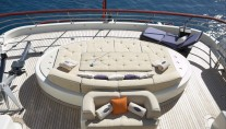 Motor yacht DENIKI - Sunpads incorporating a massage water bed