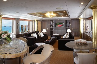 Motor yacht DENIKI - Upper salon