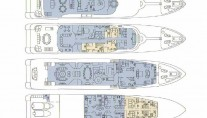 Motor yacht DREAM -  Layout