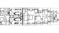 Motor yacht Don Carlo -  Accommdation Layout