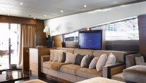 Motor yacht ECLAT - Salon entertainment