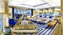 Motor yacht EVENT -  Bridge Deck Salon