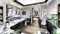 Motor yacht EVENT -  Master Cabin Bathroom