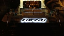 Motor yacht FORZA 8 -  Aft View at Night