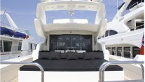 Motor yacht FRIDAY -  Aft Deck Sunpads