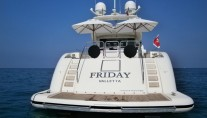Motor yacht FRIDAY -  Aft View