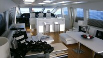Motor yacht FRIDAY -  Salon looking forward