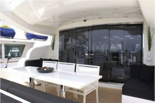 Motor yacht FRIDAY - Outside Dinning Area