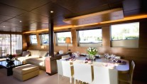 Motor yacht GIOE - Formal dining