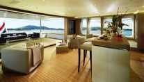 Motor yacht GO -  Bridge Deck Lounge