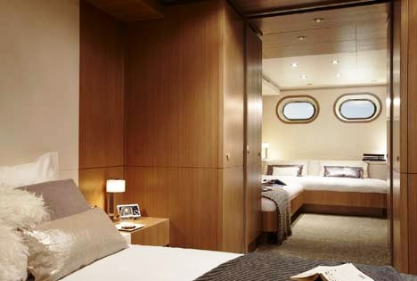 Motor yacht GO -  Guest stateroom as VIP