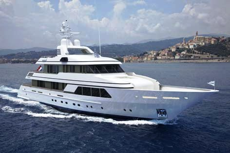 Luxury motor yacht�GO