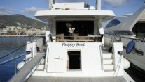 Motor yacht HAPPY FEET -  Stern