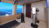 Motor yacht ICE ANGEL - Gym