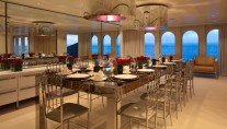 Motor yacht IDOL-  Formal Dining