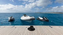 Motor yacht IDOL-  Swim Platform tenders and toys