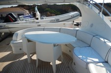 Motor yacht IF -  Flybridge Dining