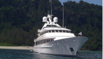 Motor yacht JANA -  At Anchor