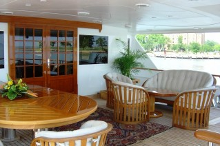 Motor yacht JANA -  Outdoor Deck Space