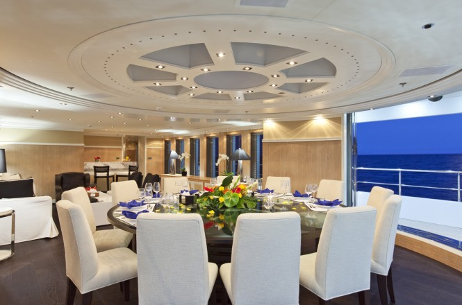Motor yacht KINTA -  Formal Dining