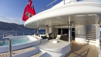 Motor yacht KINTA -  Main Deck At - Spa Pool