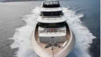 Motor yacht LA PELLEGRINA -  Forward View