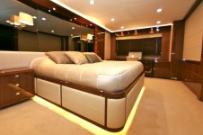 Motor yacht LADY BEATRICE - Master Cabin