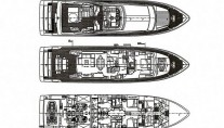 Motor yacht LADY CHATTERLEY -  Layout
