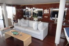 Motor yacht LADY IN BLUE -  Salon Seating