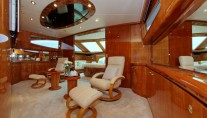 Motor yacht LADY MARCELLE - Master Cabin lounge