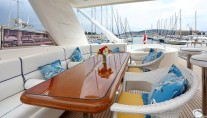 Motor yacht LADY MARCELLE - Sundeck Dining