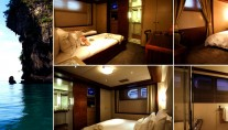 Motor yacht LAZY Z - Guest Cabin Details
