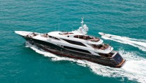 Motor yacht LIBERTY -  From Above