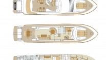 Motor yacht LITTLE JEMS layout