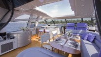 Motor yacht LULU -  Main deck Salon and Dining