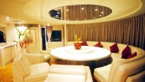 Motor yacht Lady Arraya -  Dining area