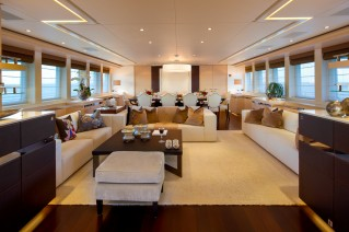 Motor yacht Lady L -  interior - Photo courtesy of Alexis Andrews