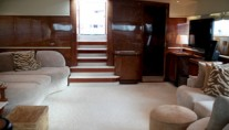 Motor yacht MACH ONE -  Salon looking aft
