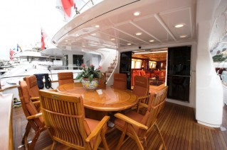 Motor yacht MAGIC DREAM -  Aft Deck Al Fresco Dining