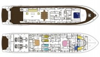 Motor yacht MAGIC DREAM -  Layout