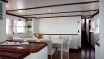 Motor yacht MARHABA - Galley and Dining