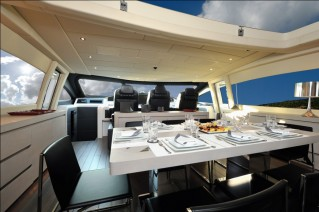 Motor yacht MOSKING - Dining Area