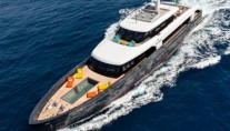 Motor yacht MY LOGICA from above - Gentini