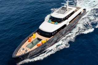 Motor yacht MY LOGICA from above - G.Sargentini