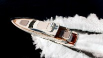 Motor yacht NAMI - From Above