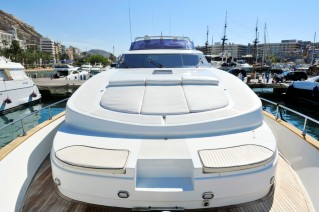 Motor yacht NASSICA A - Foredeck