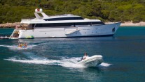 Motor yacht NOMI -  On Charter with water sport toys